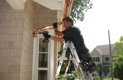 Gutter installation in Edina